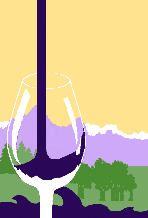 Wine-ing About Records Logo